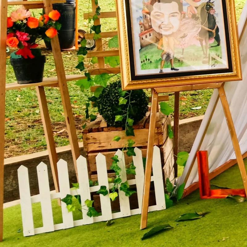 Dekorasi Rustic Outdoor Semarang Paket Pernikahan Semarang