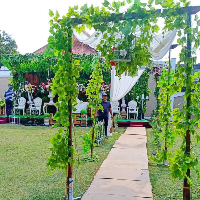 Instalasi Dekorasi Pernikahan Outdoor Semarang Lokasi Ks3