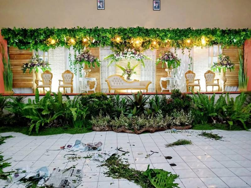 Potret Malam Instalasi Dekorasi Pelaminan Semarang Tinggal
